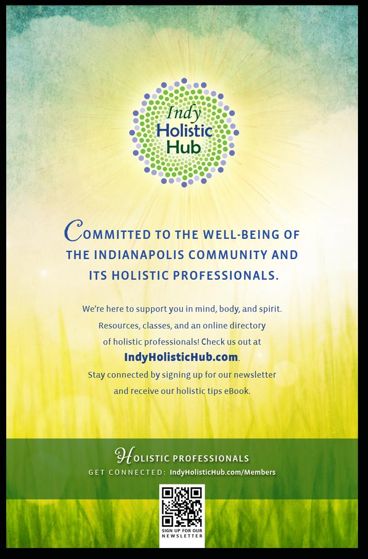 Indy Holistic Hub poster
