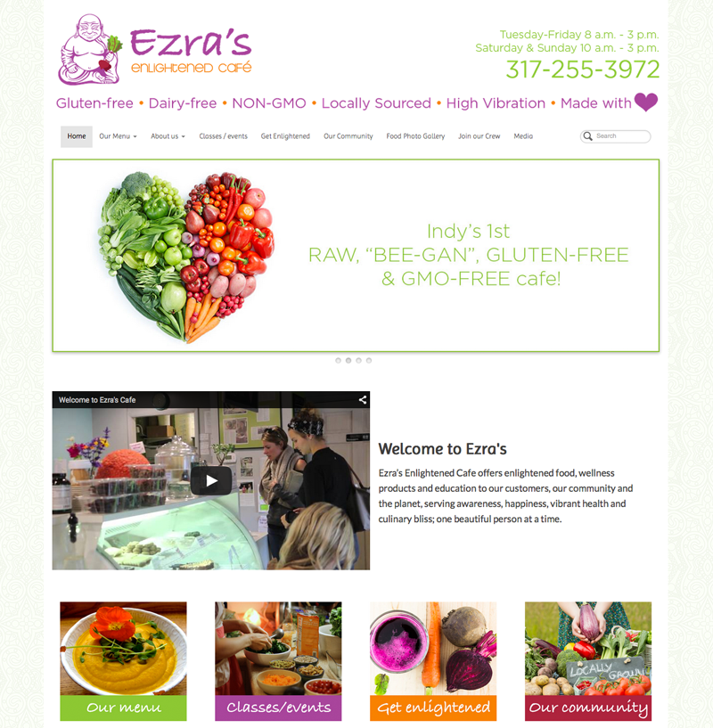 Ezra's Enlightened Cafe